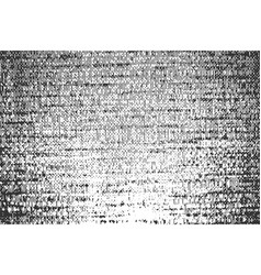 Black horizontal grainy lined texture vector
