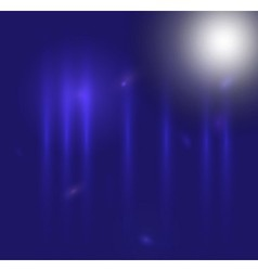 Blue light over blue abstract background vector