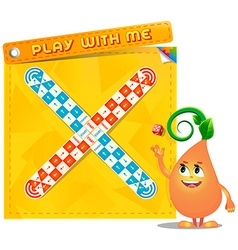 Board game Play with me vector image