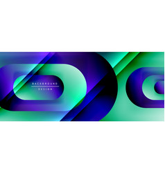 Geometric abstract background with lines vector