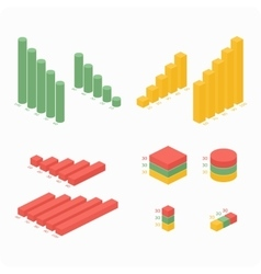 Graphs of differentcolors vector