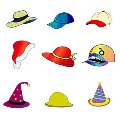 hats vector image