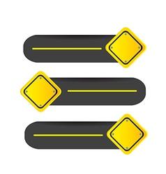 Road signal vector