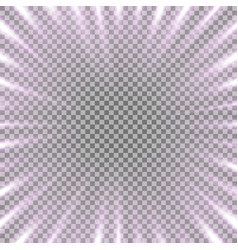Tunnel of light purple color vector
