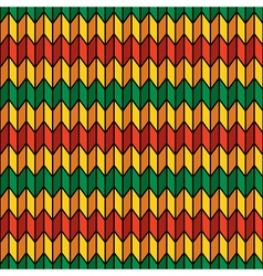 Background seamless pattern in rasta colors vector image vector image