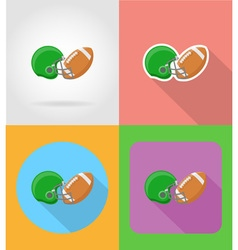 sport flat icons 16 vector image vector image