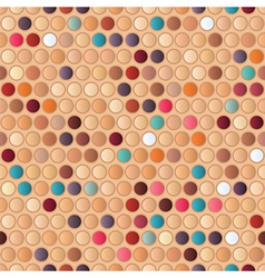 Mosaic Seamless Pattern vector image