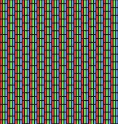 Analog TV Screen Close Up Texture vector image