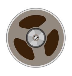 A tape bobbin vector