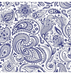 Beautiful paisley seamless vector