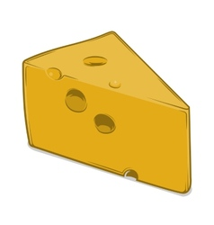 Cheese Chunk vector image