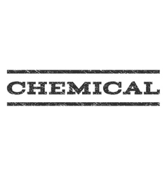 Chemical Watermark Stamp vector image