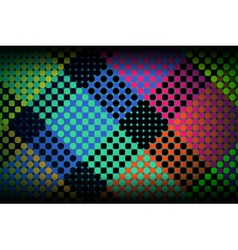 Colorful Dots Abstract Background vector