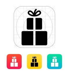 Gifts icon vector image