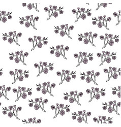 japanese style seamless pattern vector image