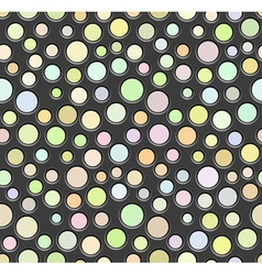 Abstract perforated pattern vector image vector image