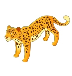 Isometri leopard icon vector image vector image