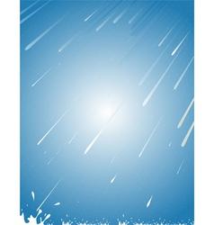 rain abstract vector image vector image