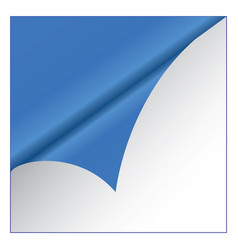 blue sticker on white background vector image vector image