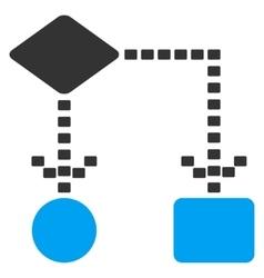 Algorithm Scheme Icon vector