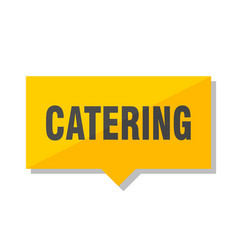 Catering price tag vector