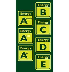 EnergyTagXX vector image