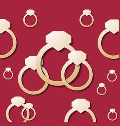 Ring wedding ai eps 10 gradient mesh vector
