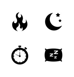 activity life simple related icons vector image vector image