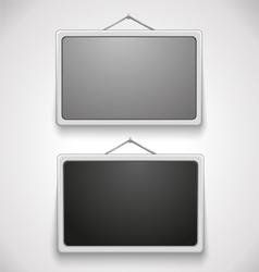 wall frames vector image vector image