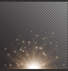 bokeh background with shimmering lights vector image