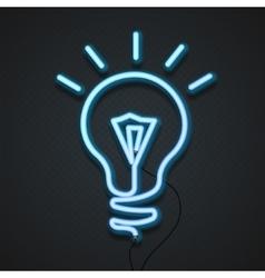 Neon Lamp vector image vector image