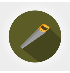 Saw icon Flat vector image