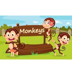 Zoo animal vector image
