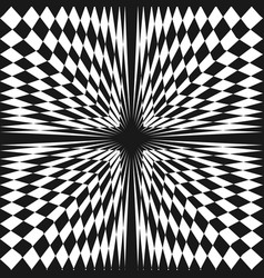 Abstract checkered seamless pattern vector