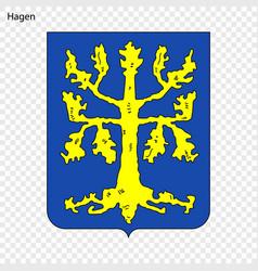 Emblem city germany vector
