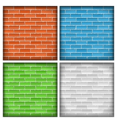 Old Brick Walls vector image