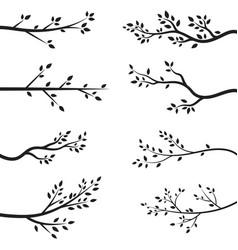 Tree branch design vector