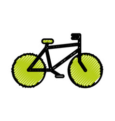 vintage bicycle vehicle vector image