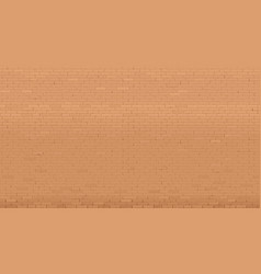 background wall old red brick vector image