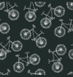 black board background seamless pattern of vector image