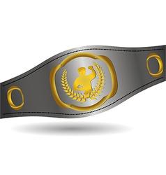 Boxing sport vector