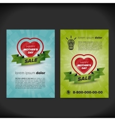 Mother day sale flayer vector