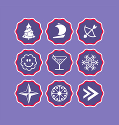 phone stories social icons story web vector image