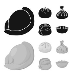 products and cooking symbol vector image