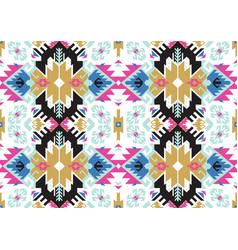 tribal turkish seamless pattern in bohemian style vector image