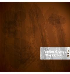 Grunge Dark Background vector image vector image