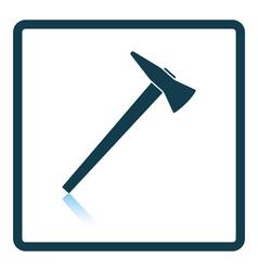 Fire axe icon vector image