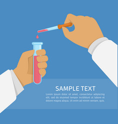 laboratory research vector image vector image