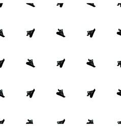 Snowboarding seamless pattern vector image