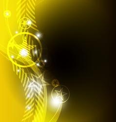star background design vector image vector image